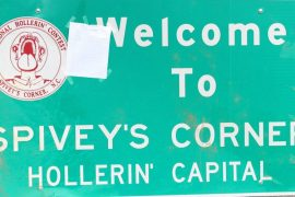THE HOLLERIN' CONTEST AT SPIVEY'S CORNER: Kooky & Heart-Warming