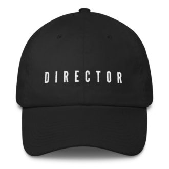 DIRECTOR Cotton Cap
