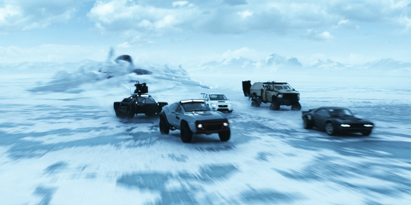 THE FATE OF THE FURIOUS: High Speed Sequel Mainly Spins Its Wheels