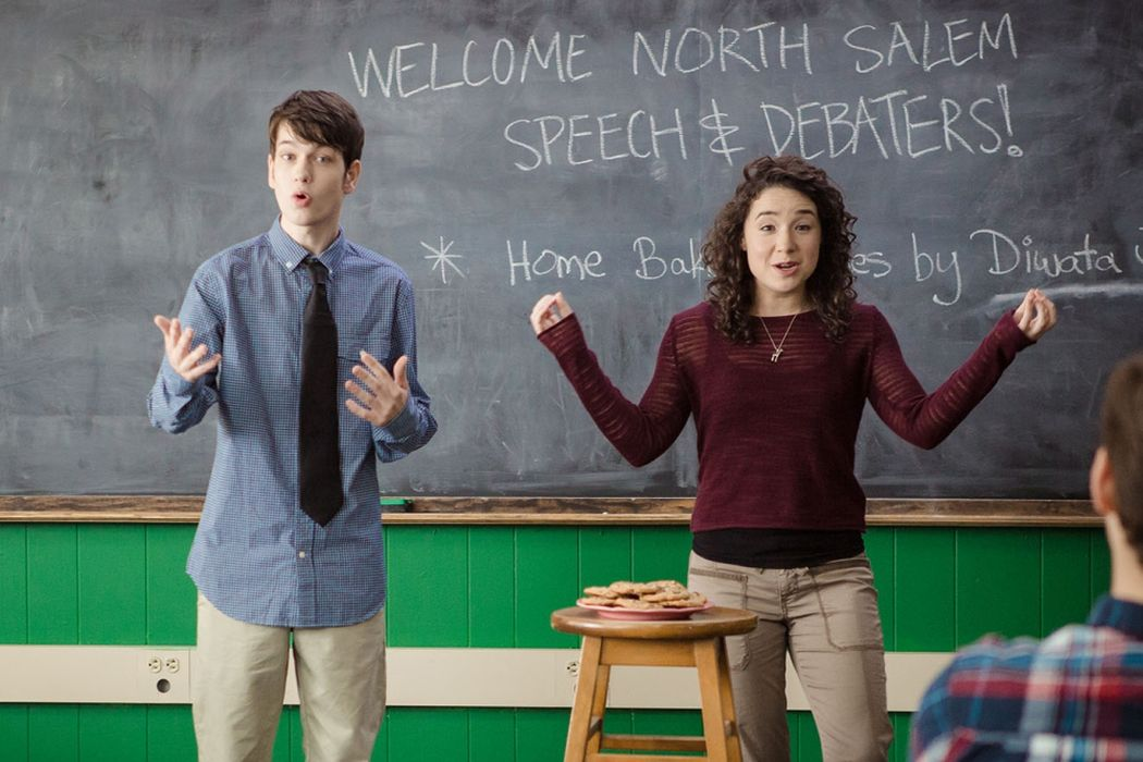 SPEECH & DEBATE: Teen Film Lacks Focus