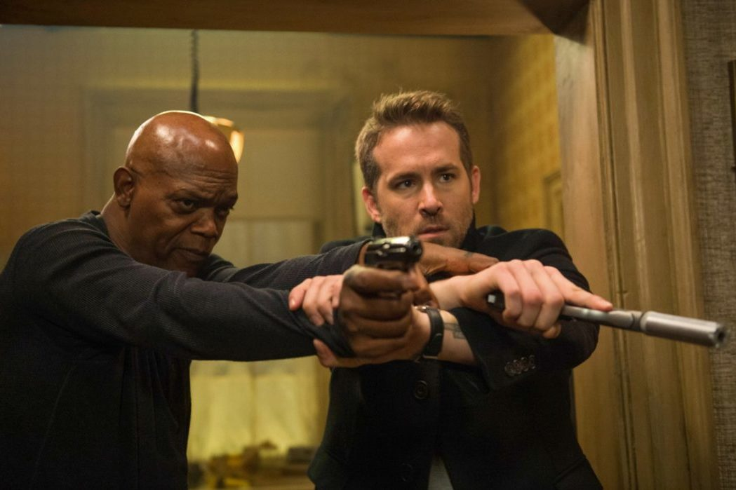 THE HITMAN'S BODYGUARD: Reynolds And Jackson Are Game, But That's About It