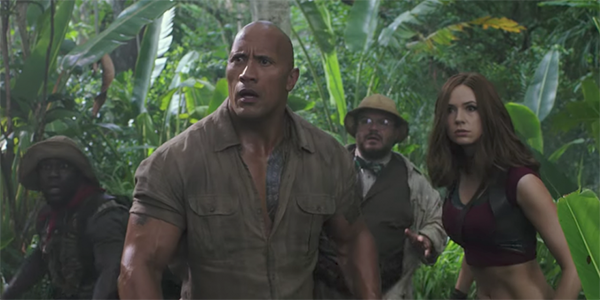 JUMANJI: WELCOME TO THE JUNGLE: Perfectly Passable Family-Friendly Fun
