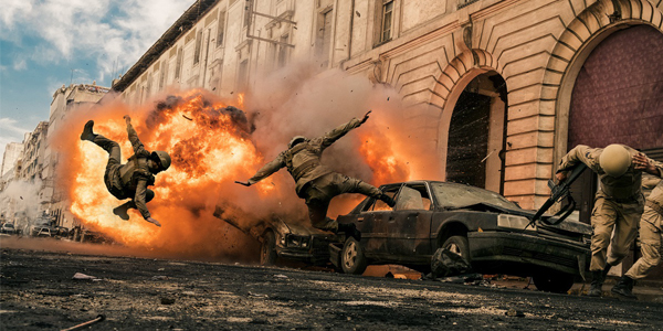 OPERATION RED SEA: The Definition Of 'Action-Packed'