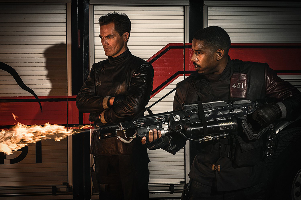 FAHRENHEIT 451: Smolders But Doesn't Ignite