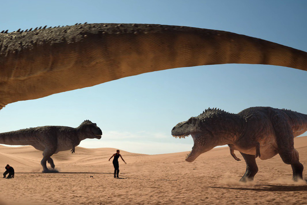 THE JURASSIC GAMES: Less Than The Sum Of Its Many, Many Parts