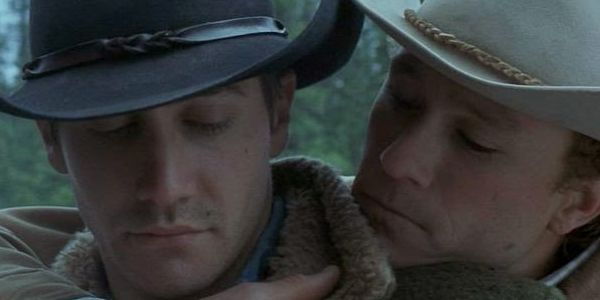 Brokeback Mountain gay sex scene